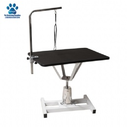 Square Hydraulic Pet Grooming Table