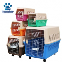 Two-door Top Load Pet Kennel Cage