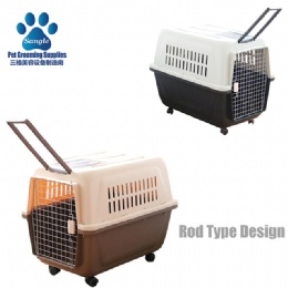 Rod Type Pet Kennel Cage