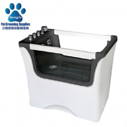 Double Glass Panel Grooming SPA Tub